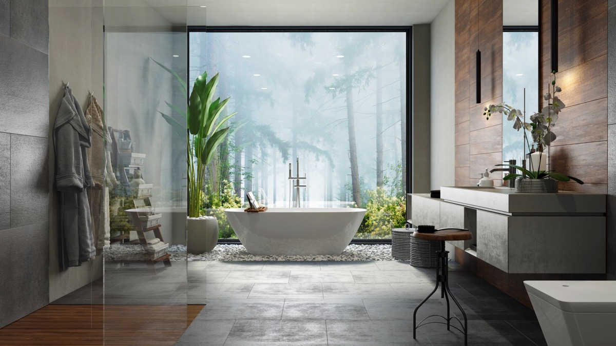 Creating a Practical Yet Luxurious Bathroom   Mountain Guest House